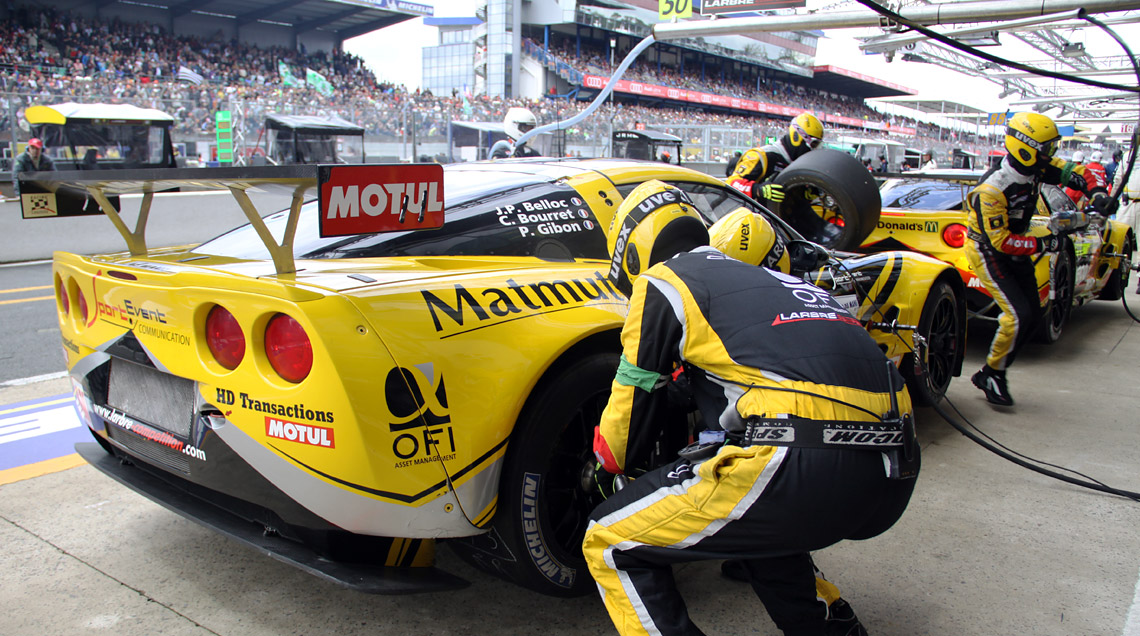 pitstop photo le mans